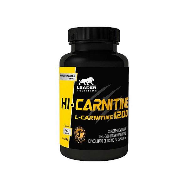 Hi-Carnitina + Chromium 60caps - Leader Nutrition
