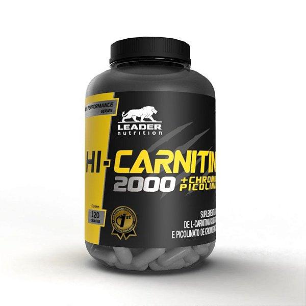 Hi-Carnitina + Chromium 120caps - Leader Nutrition