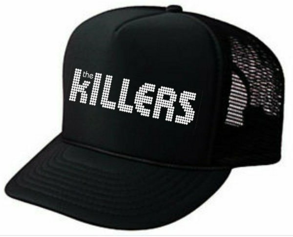 Boné the killers preto trucker