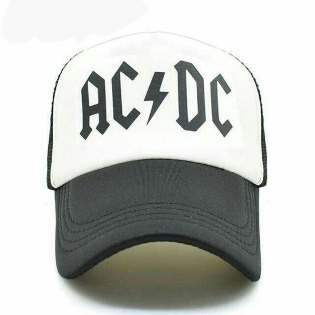 Boné  ACDC banda rock