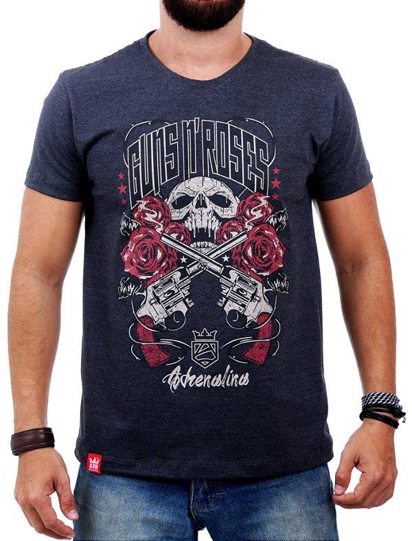 Camiseta Adrenalina Guns n' roses