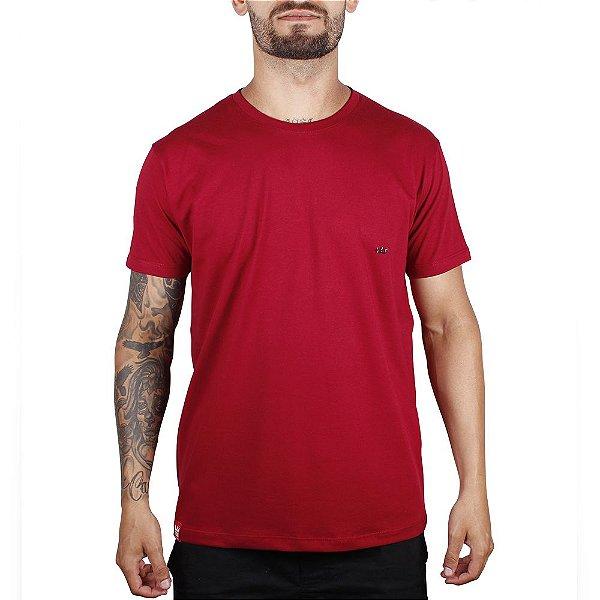 Camiseta Básica Adrenalina - Vinho
