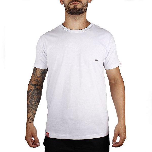 Camiseta Básica Adrenalina - Branco