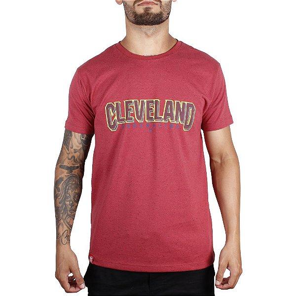 Camiseta Adrenalina Cleveland - Vermelho Mescla