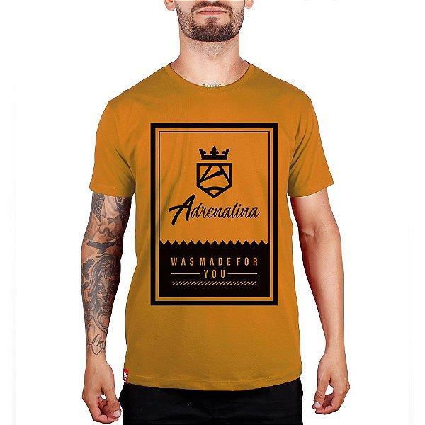 Camiseta Was Made For You - Mostarda