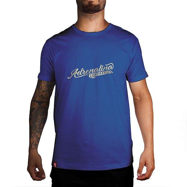 Camiseta Adrenalina - Azul