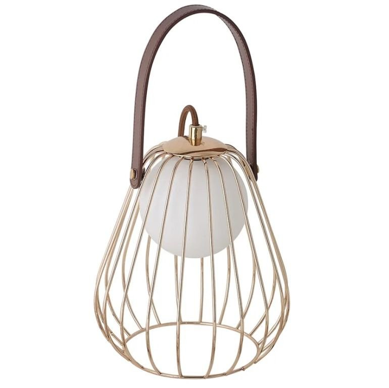 LUMINÁRIA ABAJUR LAMP Ø18 X A22CM 1XG9 ML001 BELLA