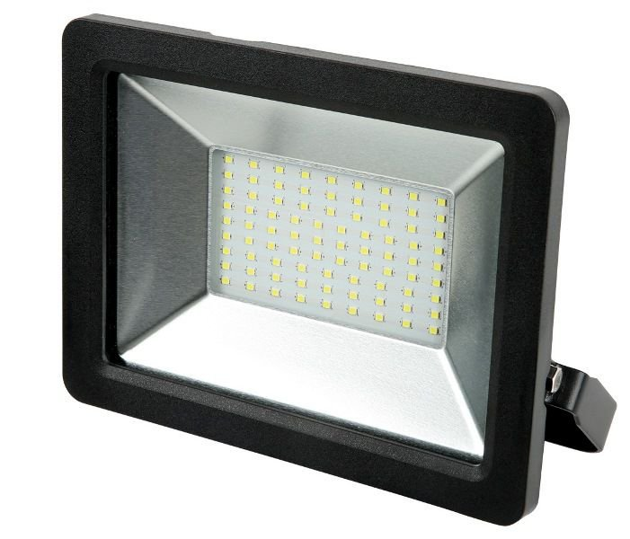 REFLETOR PRETO PRO LED SMD IP65 BIVOLT OPUS