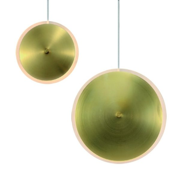 PENDENTE DISC PRATIC BRONZE