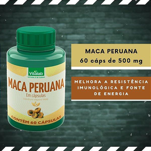 MACA PERUANA - 60 Cáps 500 mg