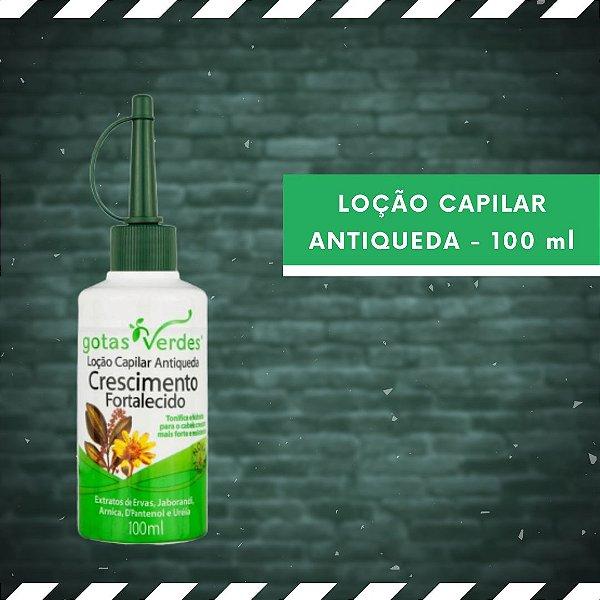 LOÇÃO CAPILAR ANTIQUEDA - CRESCIMENTO FORTALECIDO - 100 ml