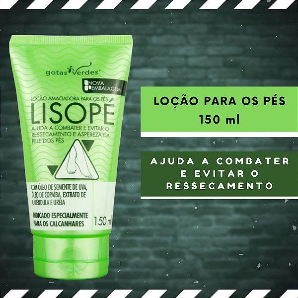 LISOPÉ - LOÇÃO AMACIADORA PARA OS PÉS - 150 ml