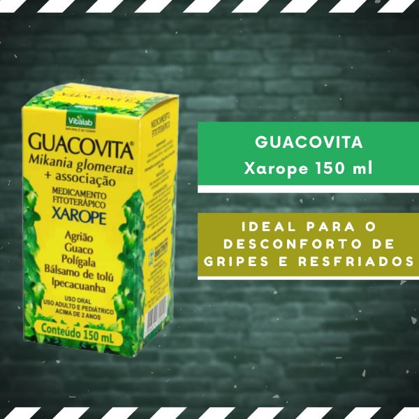 GUACOVITA - Xarope 150 ml