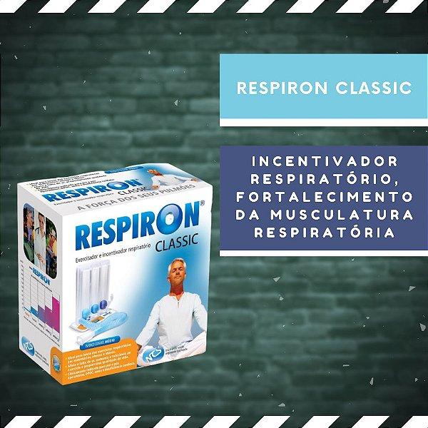 RESPIRON CLASSIC - Exercitador e Incentivador Respiratório