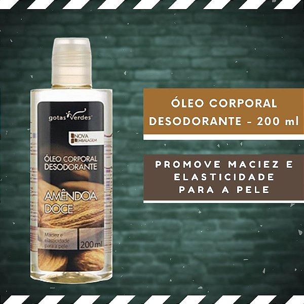 ÓLEO CORPORAL DESODORANTE - AMÊNDOA DOCE - 200 ml