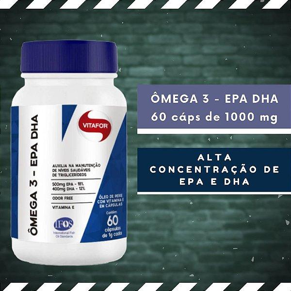 ÔMEGA 3 EPA DHA - 60 Cáps 1000 mg