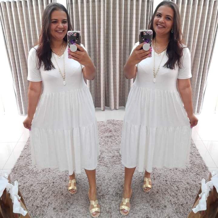 Vestido Julieta (Modelagem Ampla que veste do 42 ao 50)