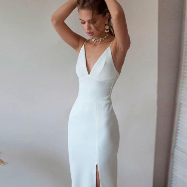 Vestido Sexy sem Costas