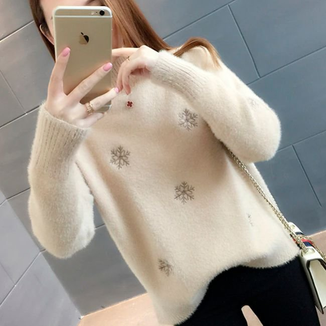 Suéter Feminino Snow
