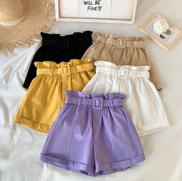 Shorts Feminino com Cinto