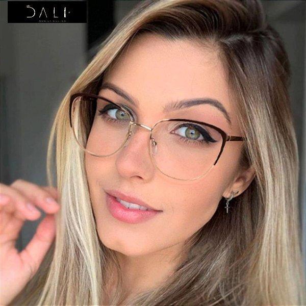 Armação de Óculos de Grau Retro