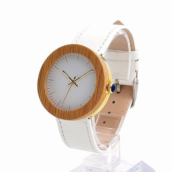 Relógio Feminino Bobobird Couro