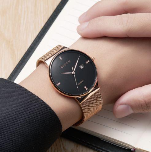 Relógio Feminino Biden Série Ouro