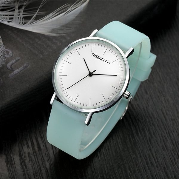 Relógio Feminino Rebirth Silicone