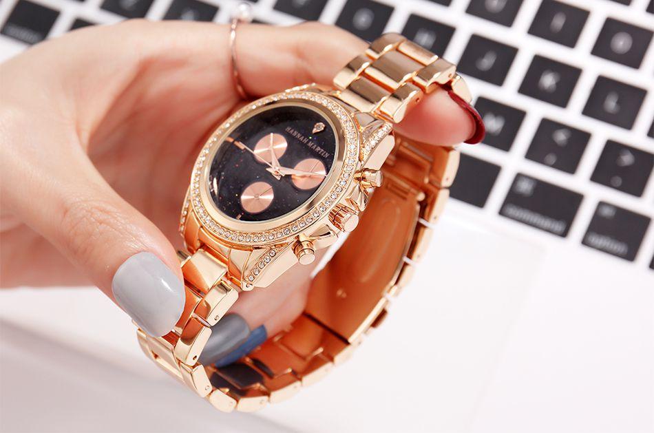 Relógio Feminino Hannah Ouro