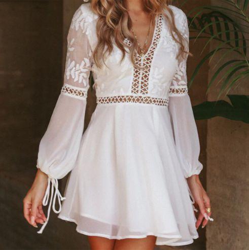 Vestido Verão Elegante