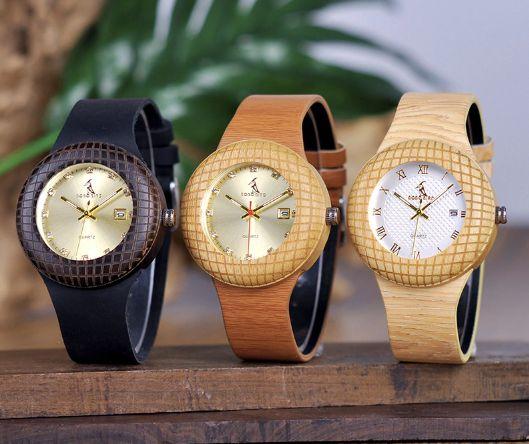 Relógio Feminino Bobobird Ouro