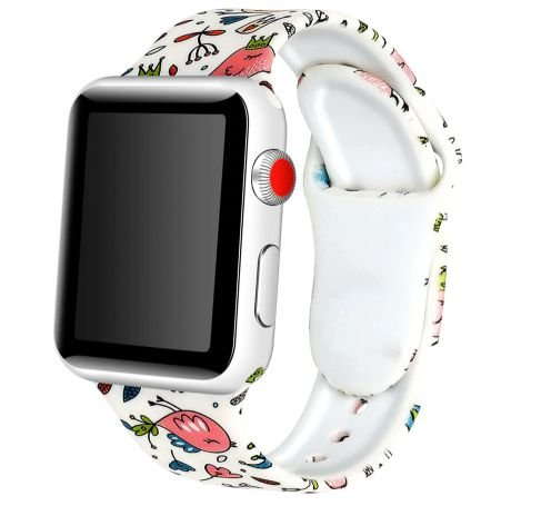 Pulseira em Silicone Colorida - estilo Apple