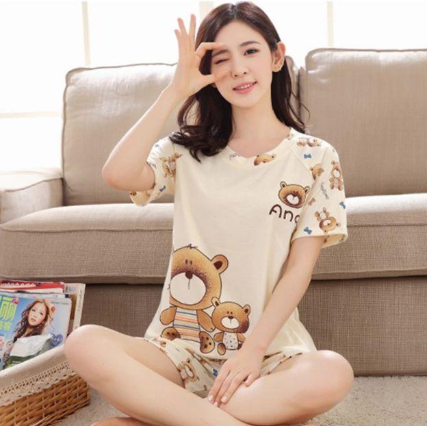 Pijama Feminino Urso