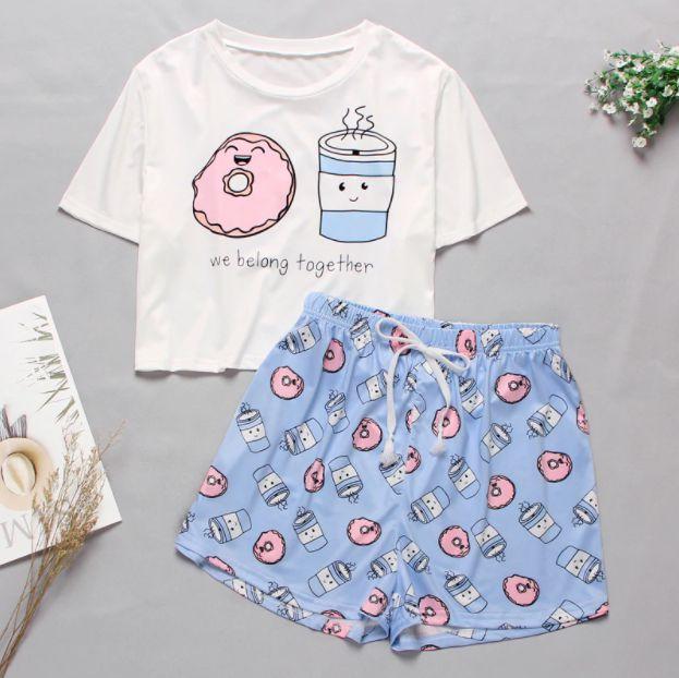 Pijama Feminino Together