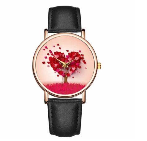 Relógio Feminino de couro Amor