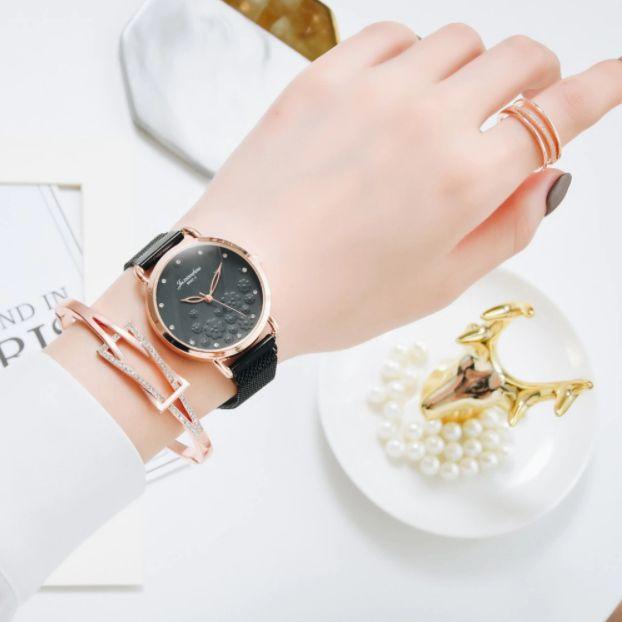 Relógio Feminino 8892 + Pulseira