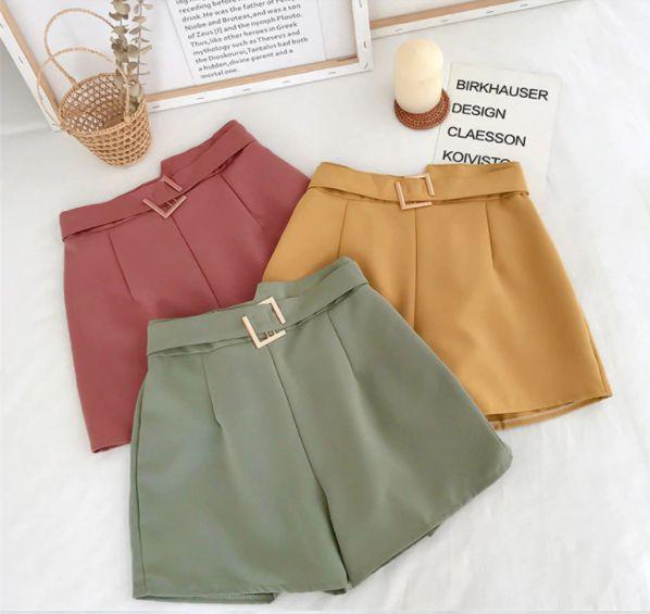 Shorts Feminino Cintura Elástica