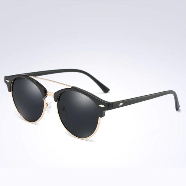 Óculos de Sol Feminino Redondo Polarizado