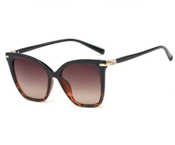 Óculos de Sol Feminino Leopardo