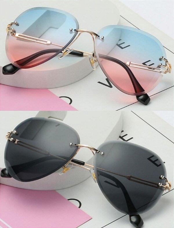 Kit com 2 Óculos de Sol Feminino Dali Vintage