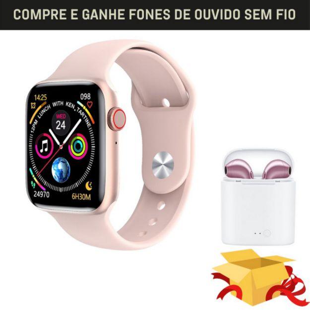 Relógio Eletrônico Smartwatch Iwo W26 + Brinde 40mm / 44mm