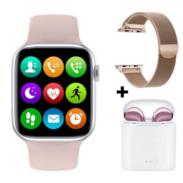 Relógio Smartwatch Eletrônico Iwo W26 + Airpods + Pulseira Extra