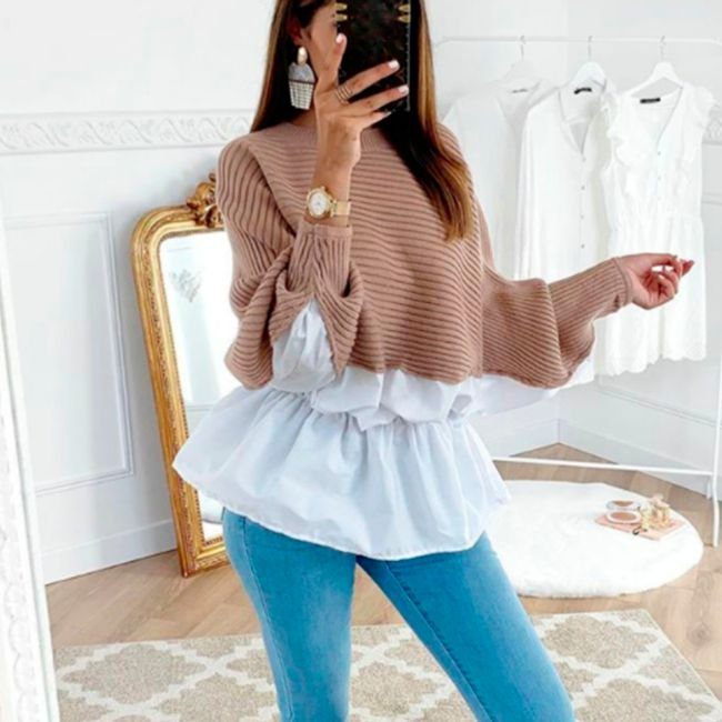 Suéter Feminino de Malha