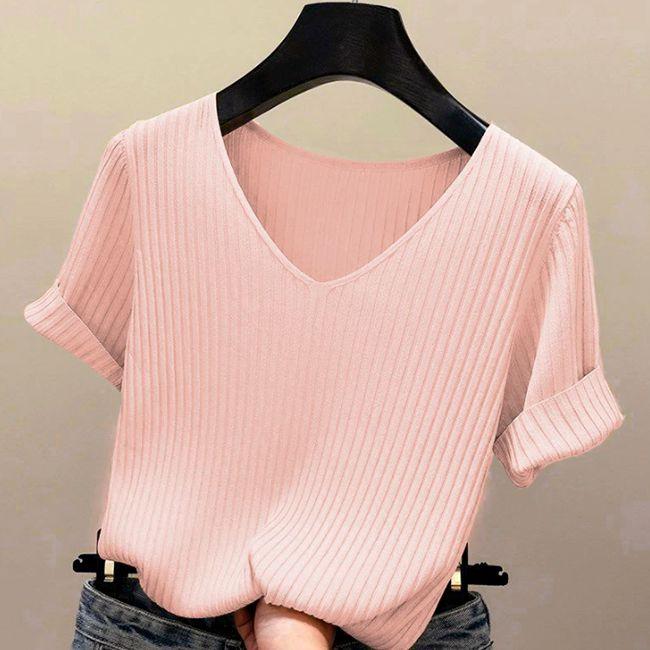 Blusinha Feminina Shirts Chanfrado
