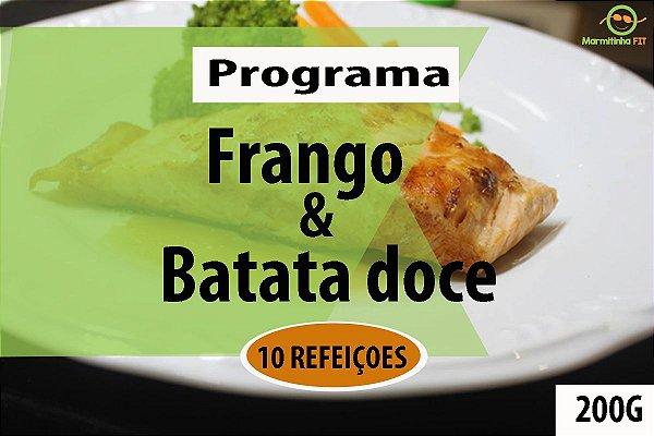 KIT 10 Frango e Batata doce