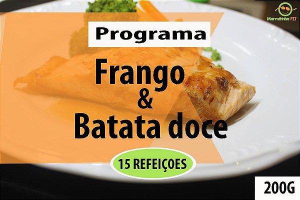 kit 15 Frango e batata doce
