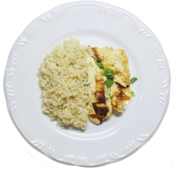 TILAPIA E ARROZ INTEGRAL