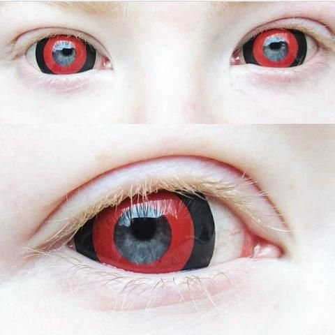 Crazy Lens - Mini Sclera Tokyo Ghoul 17mm