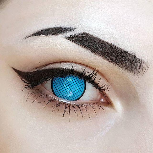 Crazy Lens - Blue Mesh R