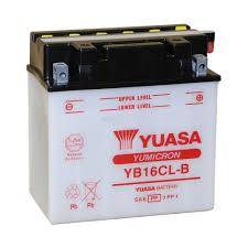 Bateria Yuasa YB16CL-B |12V - 19Ah| Jet Ski Bombardier See-Doo Kawasaki Yamaha Polaris